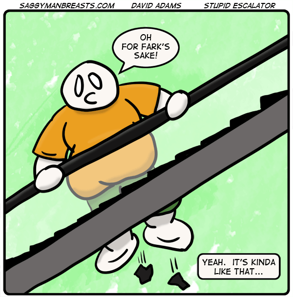 #42 – Stupid Escalator